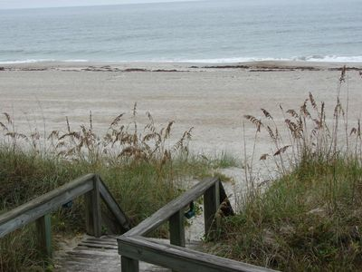 Photo for Direct Oceanfront 1st Floor Condo! Steps from the sand!!