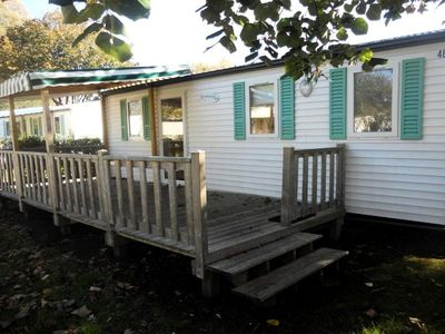 Photo for Camping Nauzan Plage **** - Mobile home Comfort 3 Rooms 4/5 People