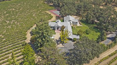 Photo for Stunning 20-acre Sonoma Wine Country Estate (Vineyard, Pool, Tennis)