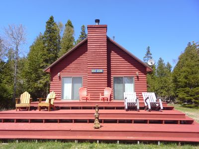 Photo for Drummond Island Vacation Homes-Star Gazer Cottage