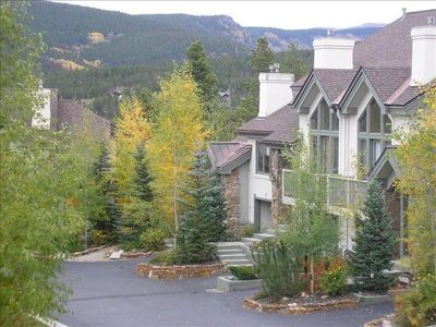 End Unit Villa (right of Aspens) on Private Street in Private Neighborhood