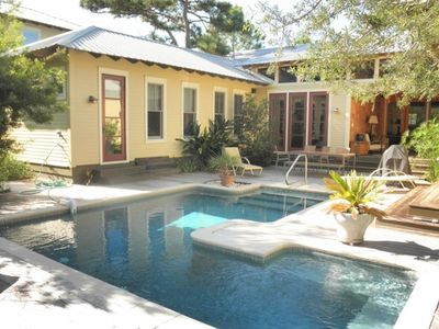 Photo for Serenity Oaks, Close to the Beach and Seaside- Private Heated Pool