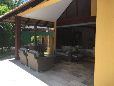 Photo for Bungalow in the best part of the beach of Muro Alto