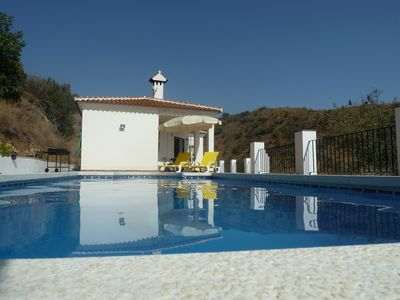 Photo for 3 bedroom villa with private pool. Wonderful views (mountain and sea)