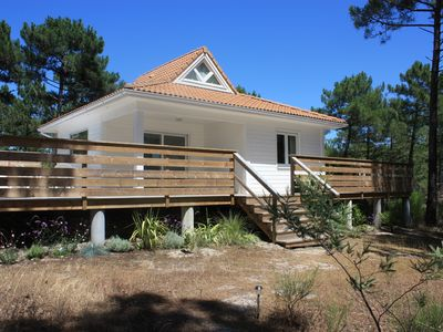 Photo for La Jenny Colibri Chalet with Ocean Views in Naturiste Village