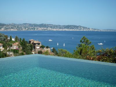 Photo for Very beautiful villa with unique services in Théoule-sur-Mer