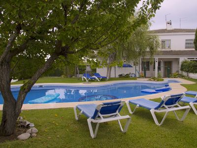 Photo for SPACIOUS AND COMFORTABLE HOME, GREAT POOL AND LARGE PRIVATE GARDEN