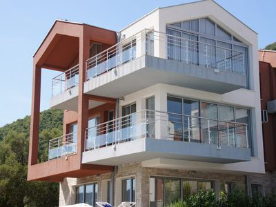 Luxurious Apartment - Stunning views over Kotor Bay - Shared Infinity Pool