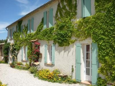 Photo for MOUSTIERS SAINTE MARIE INDEPENDENT APARTMENT IN PRETTY CLOSE VIEW AND QUIET