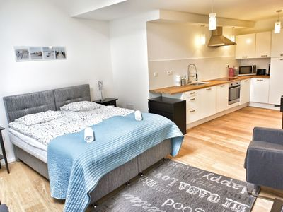 Photo for 1BR Apartment Vacation Rental in Brussels, Brussels Capital