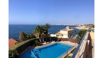 Photo for Luxury villa facing the sea ideal for children, with spectacular views.
