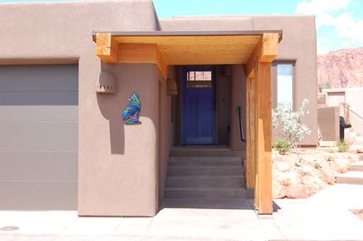 Entrance to Coyote Casita