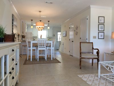 Dining Room Area to Kitchen