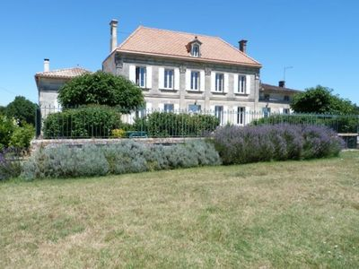 Photo for Winery of the 19th century in the heart of the vineyard. Pool with spa