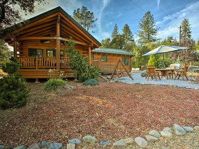 Photo for Custom Log Home - Mins to Yosemite National Park!