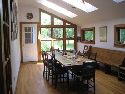 Dining Room, just off the kitchen.