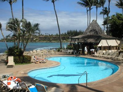 Photo for Napili Shores E136, 1 bedroom, Garden view on Napili Bay, A/C starting Dec