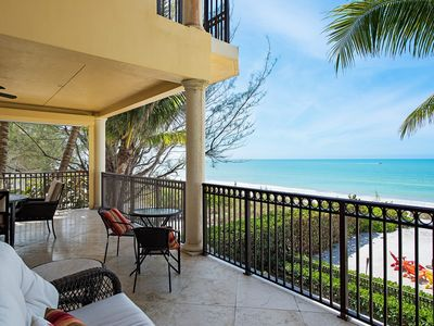 Photo for Luxurious Beach Front Private Home, Gulf of Mexico views/Naples- Captiva Island