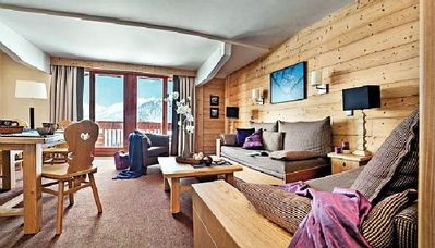 Photo for 1BR Apartment Vacation Rental in COURCHEVEL