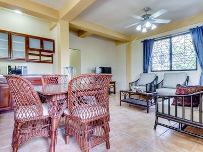 Photo for Lower level of new, modern home in a great neighborhood - close to Mayan ruins!