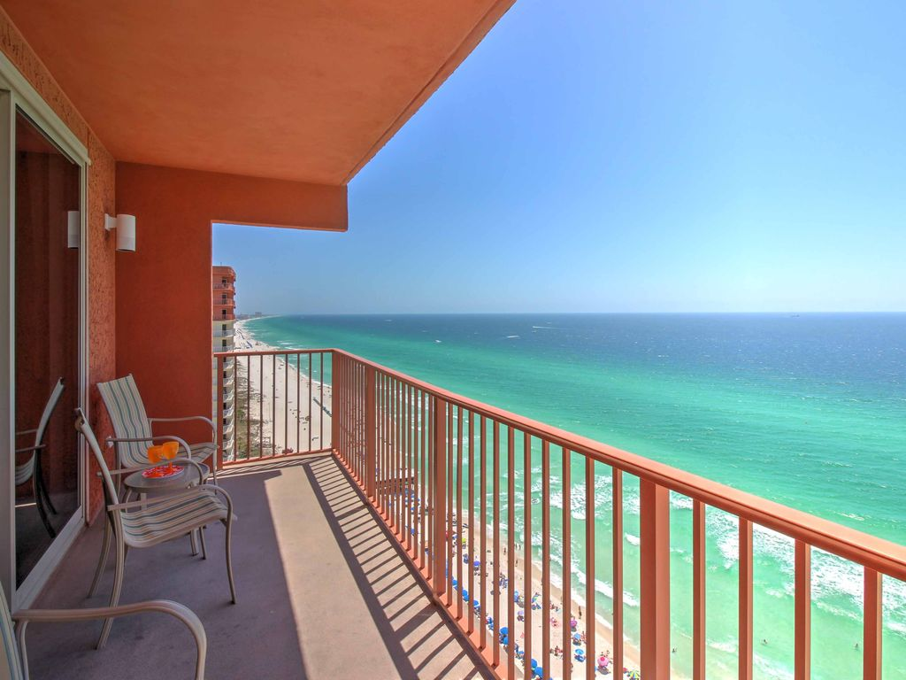 New 1br Panama City Beach Condo Great Location 1 Br