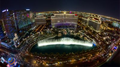 Photo for Across from Bellagio ON THE STRIP Luxury Suite w/Kitchen