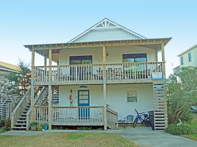 Photo for SOUNDFRONT WITH 4 BEDROOMS, WIFI, COMMUNITY POOL, TENNIS AND SOUNDFRONT BEACH