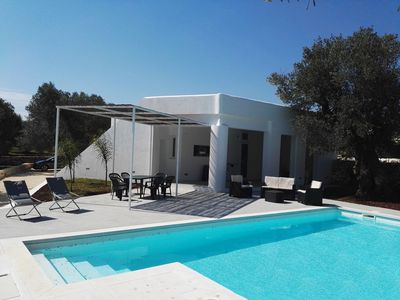 Photo for TRULLO SARACENO WITH POOL
