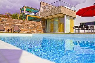 Photo for Beach Villa, Private Large Heated Pool