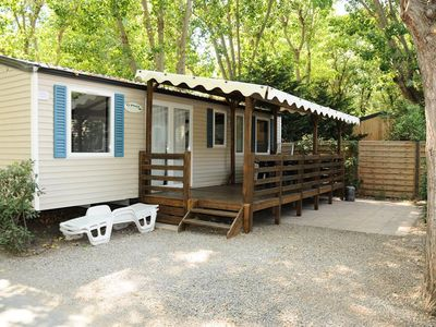 Photo for Camping Les Prairies de la Mer ***** - Riviera Lodge 4 Rooms 6 People
