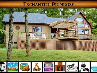 Photo for Enchanted Primrose - Amazing Mountain Views / Hot Tub / WiFi / Arcade Game