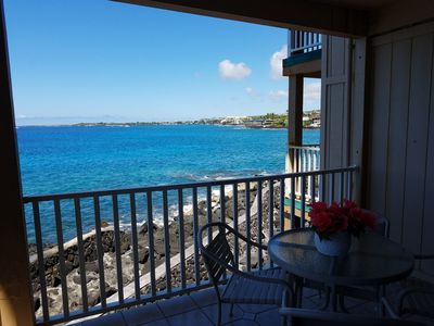 Photo for Ground Floor Right on Ocean - Unit 4111 - Best Ocean View from private lanai