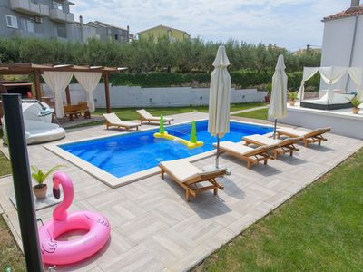 Photo for House with big private swimming pool, Big BBQ Area