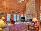 2BR Cabin Vacation Rental in Clayton, Georgia