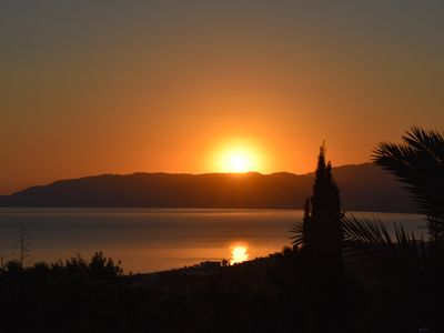 Photo for Stunning sea and mountain views from luxury detached villa with private pool