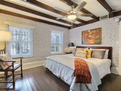Photo for Classy, Cozy Garden Level Property w/ Courtyard in Historic Savannah