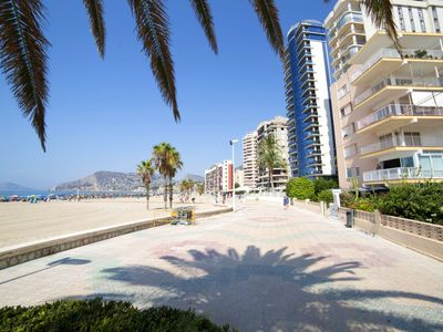 Photo for 3 bedroom Apartment, sleeps 5 in Calpe with Air Con and WiFi