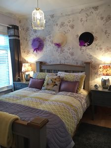 Photo for NEW LISTING! Stunning two bedroom plus small room with closet and travel cot