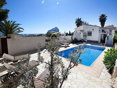 Photo for Vacation home Benarevo  in Calpe/ Calp, Costa Blanca - 8 persons, 4 bedrooms