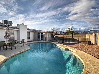 Photo for Spacious Tucson Home w/ Backyard Patio and Pool!