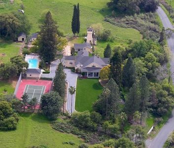 Aerial View of Green Hill Ranch