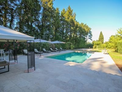 Photo for Direct Booking: Private Pool and Airconditioning in renovated Orangerie