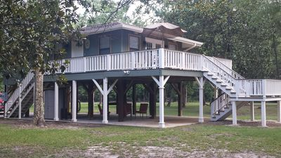 Photo for FOR SALE $189,900 COZY WATERFRONT GET-AWAY ON THE BILOXI RIVER