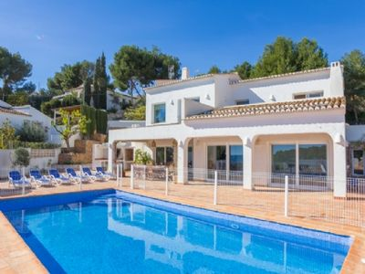 Photo for Calpe villa with pool secured by the sea