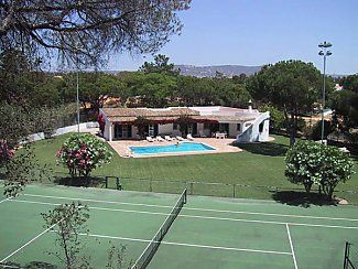 Photo for Private Villa with Pool, Tennis Court And A/C. Set In Attractive Garden.