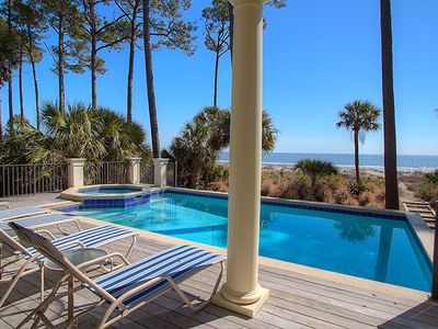 14 Brigantine - Luxury Oceanfront Home in Palmetto Dunes w/ Private Pool & Spa