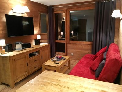 Photo for SKIS BY THE FEET- 2 ROOM / CABIN - DONE AGAIN - HIGH SPEED WIFI -CALME AND CLEAR VIEW
