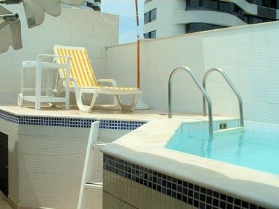 Photo for Nice penthouse+pool in Salvador (Ondina)