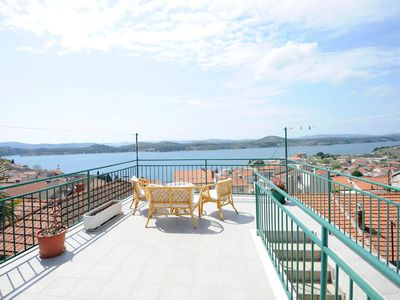 Photo for Apartment Ana Šibenik, 3 people, shared terrace, free WiFi, BBQ, private parking