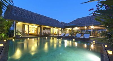 Photo for Calm & Peaceful 3BR villa in the heart of Seminyak